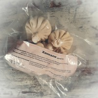 Хинкали ручной лепки ( свинина-говядина)