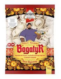 Новинка! - специальная цена - Пельмени Bogatyr, 750 г (свинина и говядина)