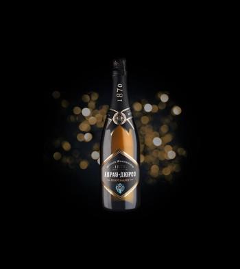Русское шампанское Abrau Durso, полусухое (Россия)