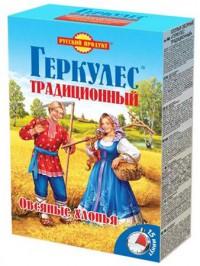 Русский продукт - Овсяные хлопья, Геркулес традиционный, 420 г