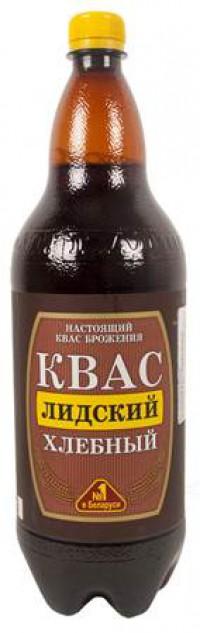 Квас Лидский хлебный 1,5л