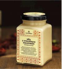 СИЛА МЕДА - Натуральный мед с пчелиным молочком (Россия) 300 g