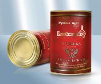 Тушенка посольская из свинины и говядины, премиум, 400 г