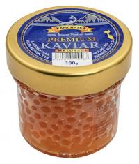 Камчаткa Икра зернистая лососевая солено-мороженая 100г