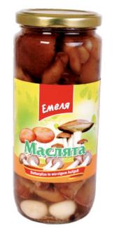 Грибы Маслята 500ml Emela