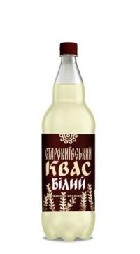 КВАС СТАРОКИЕВСКИЙ БЕЛЫЙ (живого брожения) 2л