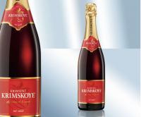 Крымское игристое вино, красное 12.5% (Украина)