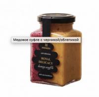 МЕДОВОЕ СУФЛЕ C ЧЕРНИКОЙ/ОБЛЕПИХОЙ  (Россия) 340 g