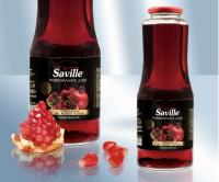 100% натуральный гранатовый сок прямого отжима, 1 л Saville (Азербайджан)