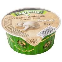 Agrovita Паштет куриный с грибами 131g