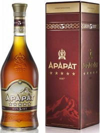 Коньяк Ararat 5 лет, 0.5 л, Армения