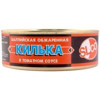 Килька в томатном соусе 240g