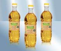 Алтайское натуральное нерафинированное подсолнечное масло холодного прессования без консервантов, 0.5 л (Россия)