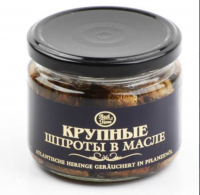 BEST TIME ШПРОТЫ КРУПН.КОПЧ.В МАСЛЕ 250Г КОШЕР.